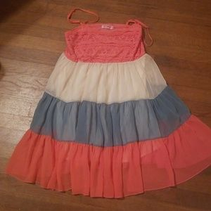 Gorgeous color block dress
